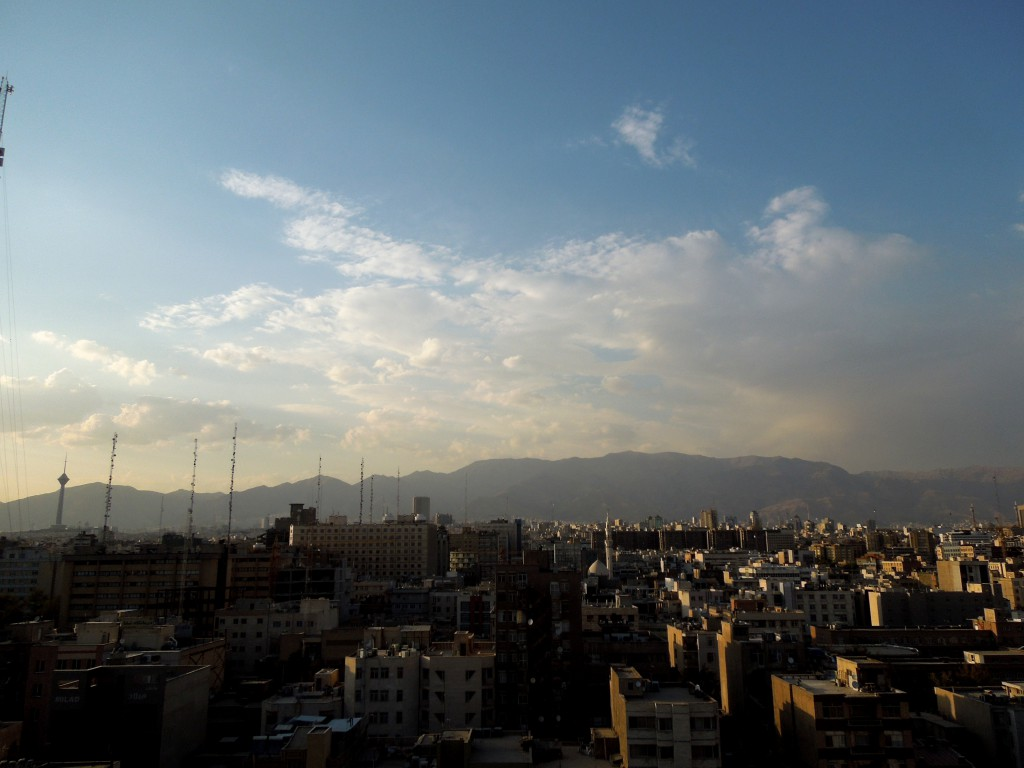 Tehran at sunrise